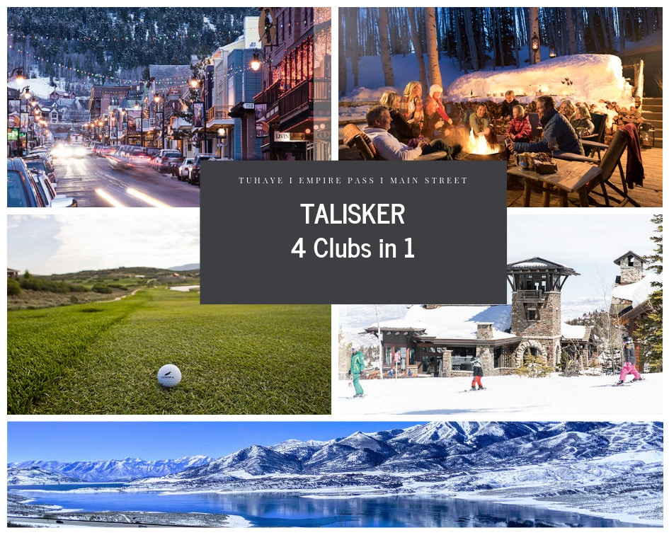 Talisker Club Tuhaye Park City Utah