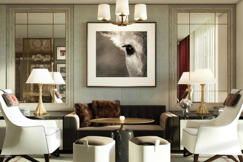 Goldener Hirsch Deer Valley Lobby